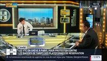 """Grève des VTC à Paris : """"Nous avons tellement alimenté Uber en nombre de chauffeurs qu'il peut se permettre de baisser les prix"""", Helmi Mamlouk - 18/12"""