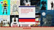 Lesen  Geographie der Freizeit und des Tourismus Bilanz und Ausblick PDF Frei