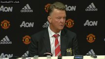 Manchester United vs Liverpool 3 : 1 Louis van Gaal post match press conference