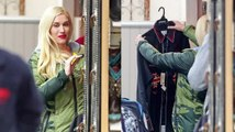 Gwen Stefani Does Some Holiday Shopping at Country Western Store