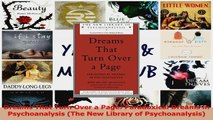 Dreams That Turn Over a Page Paradoxical Dreams in Psychoanalysis The New Library of Download