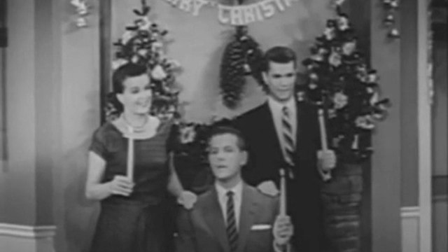 "1955 LOVE THAT BOB - ""Grandpa's Christmas Visit""  - Bob Cummings, Ann. B. Davis"