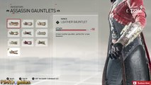 Assassins Creed Syndicate - All Outfits/Weapons/Gears (SHOWCASE ONLY) Inventory for Both