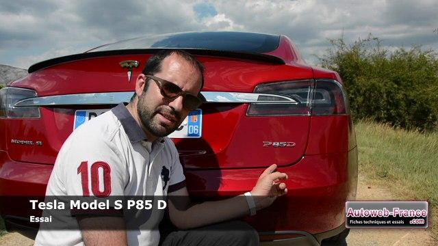 Essai Tesla Model S P85 D