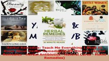 Read  Herbal Remedies Teach Me Everything I Need To Know About Herbal Remedies In 30 Minutes Ebook Online