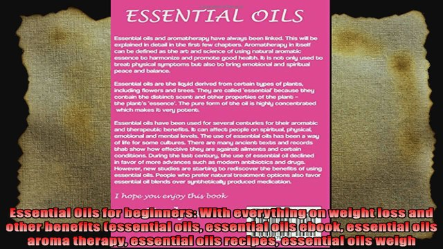 Oil Weight Explained >> Essential Oils For Beginners With Everything On Weight Loss