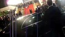 Mylène Farmer -  NRJ Music Awards 2011 - Montée des marches - Filmé par fans