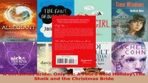 Download  A Christmas Bride Only Us A Fools Gold HolidayThe Sheik and the Christmas Bride PDF Online