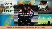 Download  Skins  Punks Lost Archives 19781985 PDF Free