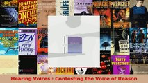 PDF Download  Hearing Voices  Contesting the Voice of Reason PDF Full Ebook