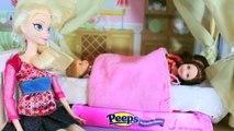 play-doh Elsa PRANK 3 Disney Frozen Barbie Parody Anna Kristoff Toy Doll Trick AllToyCollector