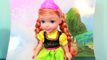 kristoff Young Kristoff & Anna Doll TOYS R US Exclusive Review with Frozen Barbie AllToyCollector