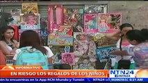Crisis económica en Venezuela dificulta a sus habitantes a celebrar la Navidad