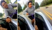 Dumb Kid Gets Hurt Bad Doing Stupid Stunt