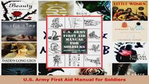 Read  US Army First Aid Manual for Soldiers Ebook Free