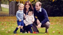 Prince George and Princess Charlotte Are Too Cute in Royal Family Christmas Photo