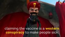 Taliban Claims Vaccines Make People Sick – Burka Avenger To The Rescue