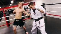 Taekwondo vs Muay Thai 2014 - Martial Arts Fight Scene (Real Contact Hits)