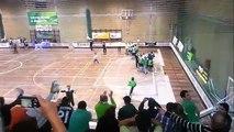 Hoquei Patins :: Sporting - 6 x Oliveirense - 6 de 2012/2013 final jogo e festejos manutenção.