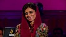 Aljazeera Anchor Making Fun of Hina Rabbani Khar on Her Face!