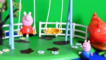 peppa pig episodes Peppa pig George pig Episode Peppa At The Park Story With peppa pig toys