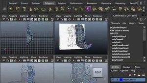 Aula Modelagem 3d (maya) - Menino Fantasiado De Dragão  Clip11-51