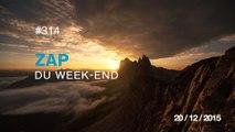 ZAP DU WEEK-END #314 : Travail d'équipe / La vague de Kelly Slater / Un vol en wingsuit stabilisé en post-production /