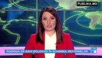România va acorda sprijin financiar Moldovei în schimbul adoptării reformelor. Declarația a fost făcută de premierul de la București, Dacian Cioloș
