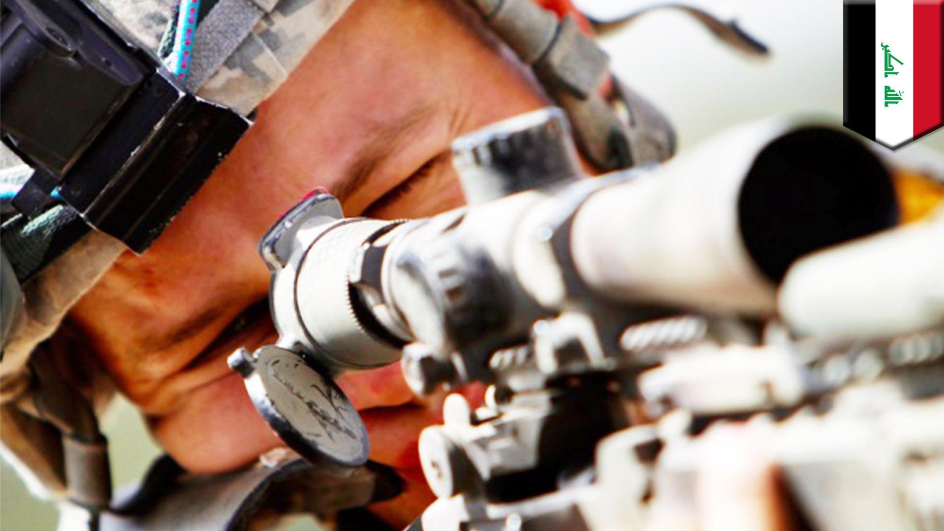 Tiga peluru sniper SAS membunuh lima pejuang ISIS
