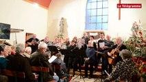 Guipavas (29) Festivités de Noël  à la chapelle Saint-Yves du Douvez