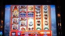 ZEUS II Penny Video Slot Machine with HOT HOT SUPER RESPINS Las Vegas Strip Casino