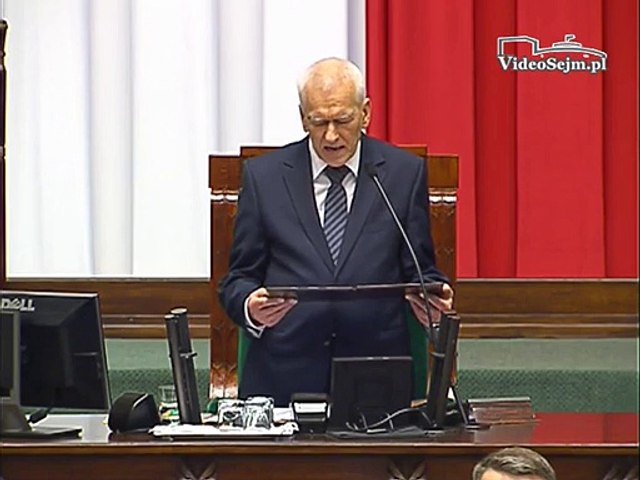 Poseł Elżbieta Rafalska - Wystąpienie z dnia 12 listopada 2015 roku.