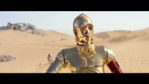 STAR WARS: THE FORCE AWAKENS Promo Clip - C-3PO & R2-D2 Meet BB-8 (2015) Epic Space Movie HD