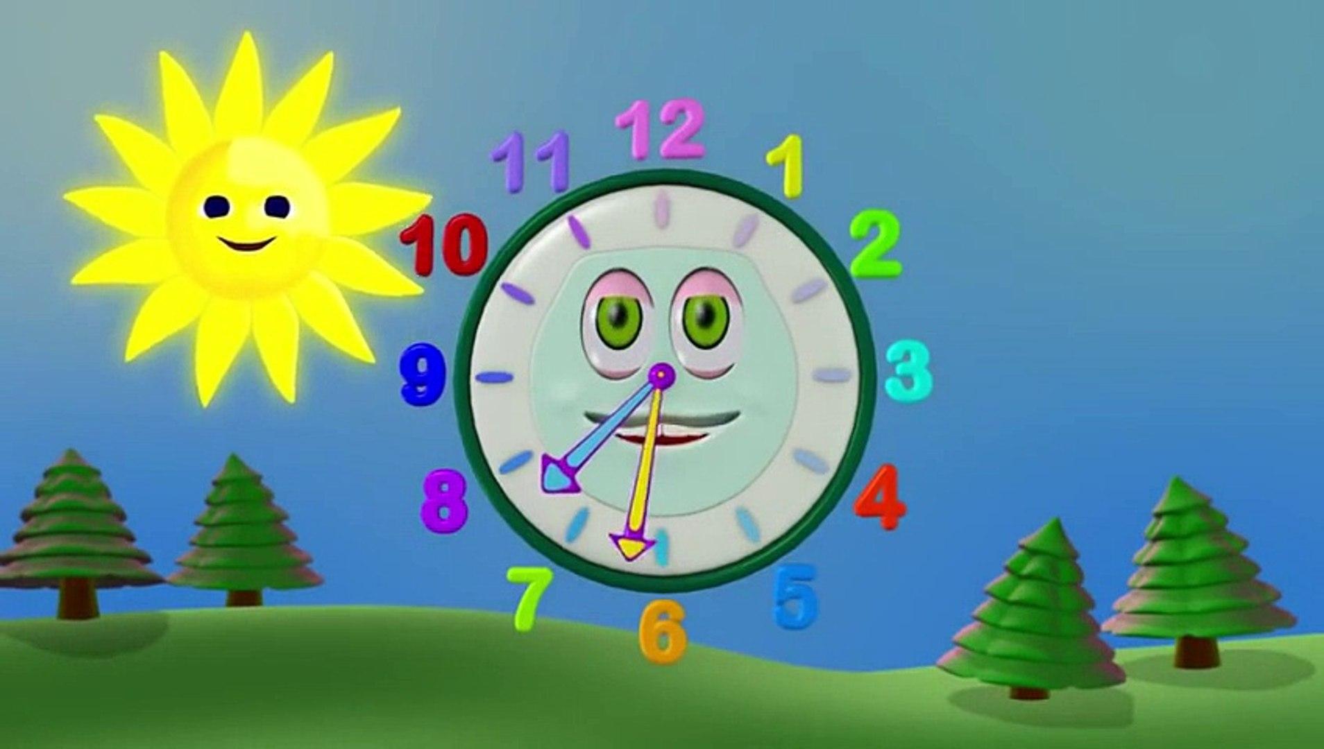 Zeemzoom - Çizgi film - Sevimli guguk saati çocuklara saati öğretiyor Çizgi Film izle - An