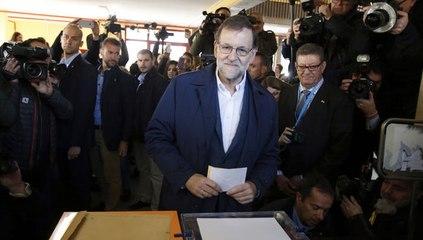 Rajoy 'Es muy reconfortante que esté votando mucha gente'