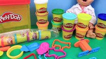 Baby Alive Lucy DIY Play Doh Animals & Creations for #WorldPlayDohDay by DisneyCarToys
