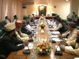 Chief Minister Sindh Syed Qaim Ali Shah chairs meeting on Ulama-e-Karam (20-12-2015)