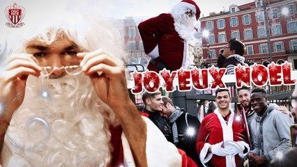 Hatem Ben Arfa et les Aiglons jouent les Pères Noël