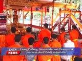 Lao NEWS on LNTV: Luang Prabang, Savannakhet & Champassak provinces plan Pi Mai Lao.9/4/20