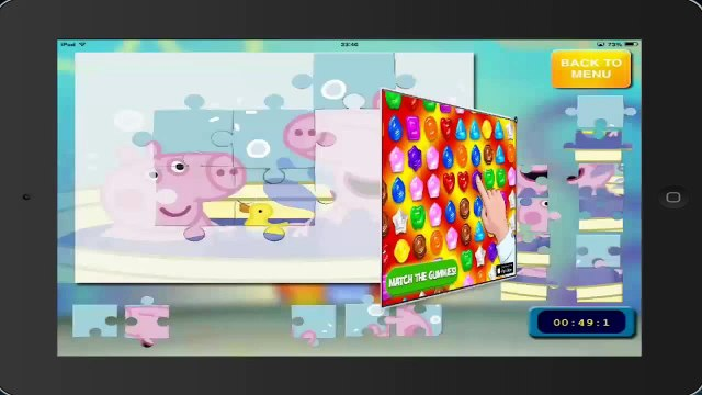 juegos peppa pig PEPPA PIG puzzle 12 HD ipad english gameplay peppa pig toys