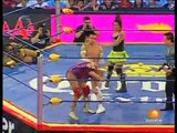 02 AAA Mixed Tag Team Title - Alex Koslov & Christina Von Eerie vs. Fabi Apache & Pimpinela Escarlata