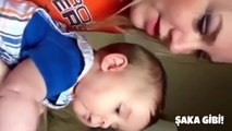 İlk defa gülen bebekler , Komik bebek anları , Bebekler ve aileleri - 2015 - HD | ŞAKA YAP