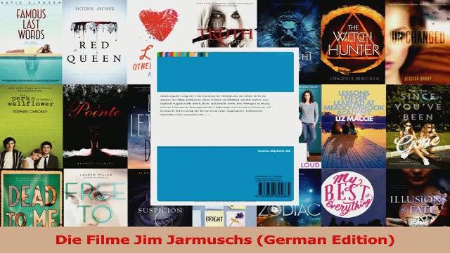 Die Filme Jim Jarmuschs German Edition