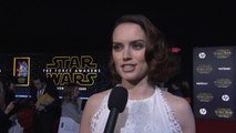 Star Wars: The Force Awakens Premiere: Daisy Ridley