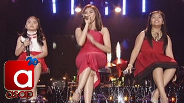 ASAP: Sarah Geronimo sings with Elha and Esang