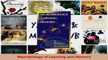 PDF Download  Neurobiology of Learning and Memory Read Online