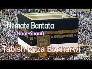 HD New Naat Sharif || Nemate Bantata Jis Samt Wo Jishan Gaya || Tabish Raza Bokharwi