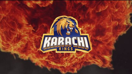 Karachi Kings logo unveiling promo