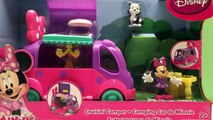 camping toys Disney Minnie: Minnie Mouse Toys - Toy Camper - Mickey Mouse Club House - Playset
