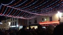 Des milliers de curieux au feu d'artifice des Vieilles Charrues (Carhaix)